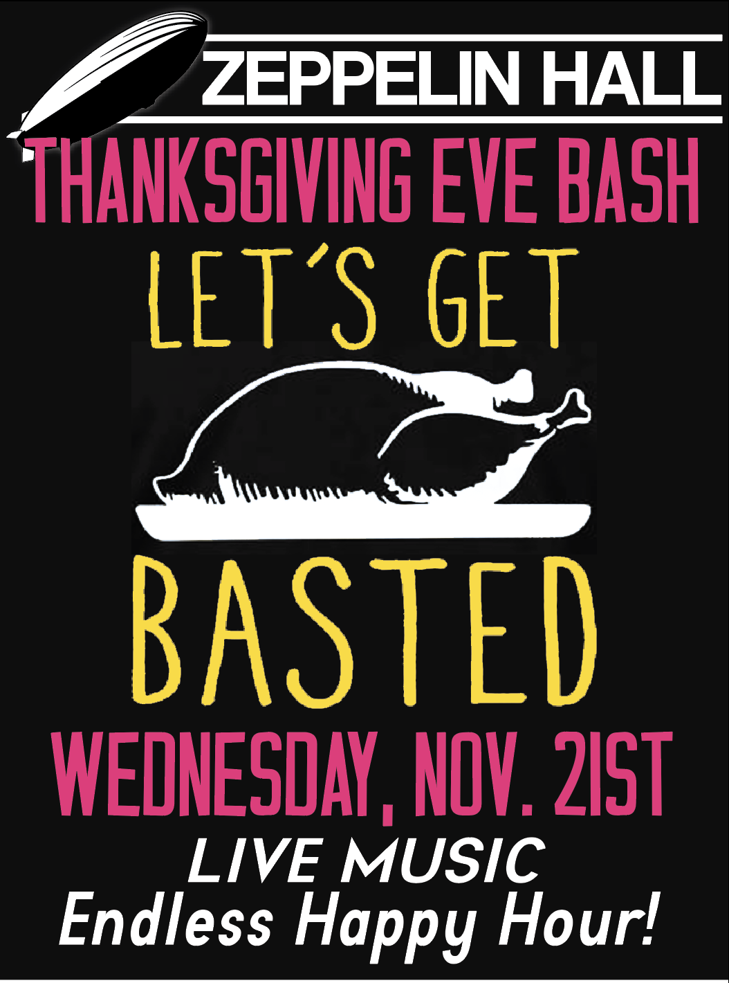 Thanksgiving Eve Poster