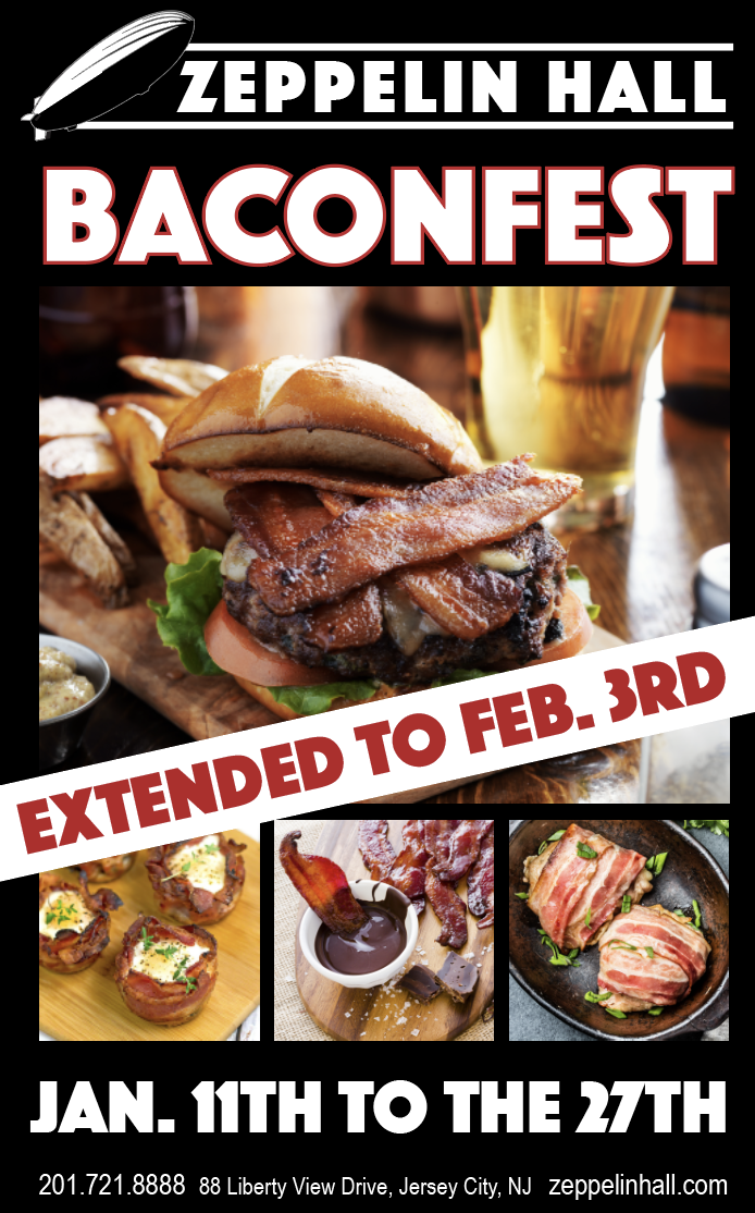 Baconfest extended to February 3rd