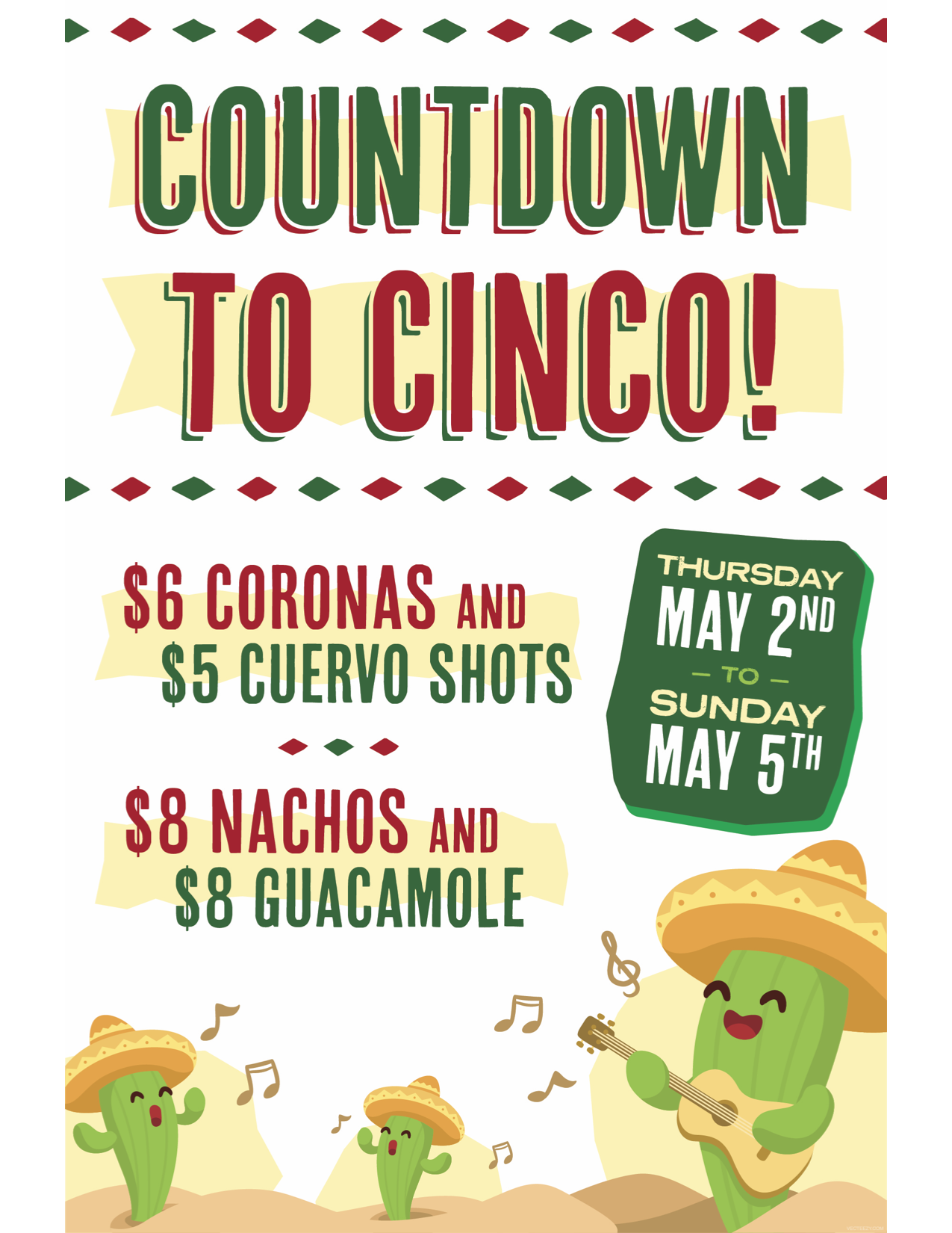Countdown to Cinco